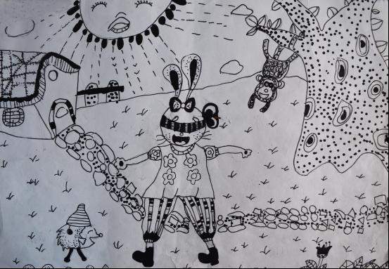 装饰画 《动物小世界》